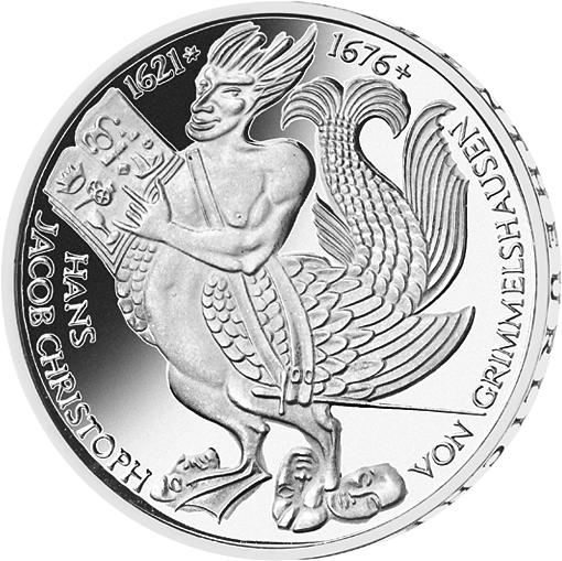 5 Dm Münze Grimmelshausen Deutschland 1977 Münzen Günstigerde