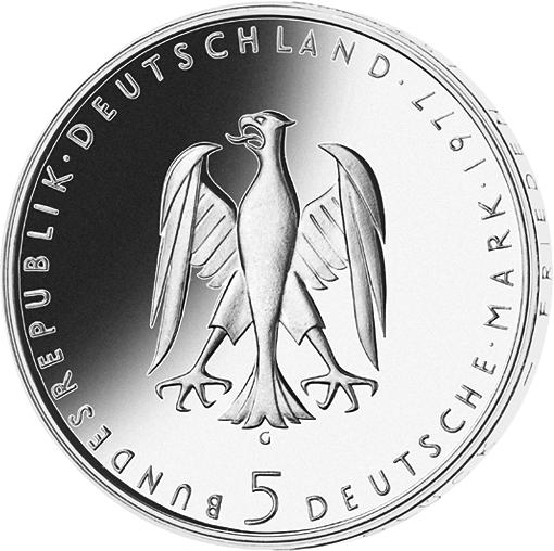 5 Dm Münze Kleist Deutschland 1977 Münzen Günstigerde