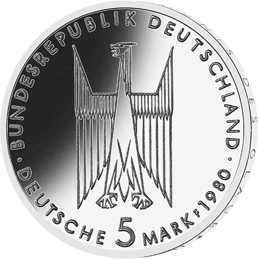 5 Dm Münze Kölner Dom Deutschland 1980 Münzen Günstigerde