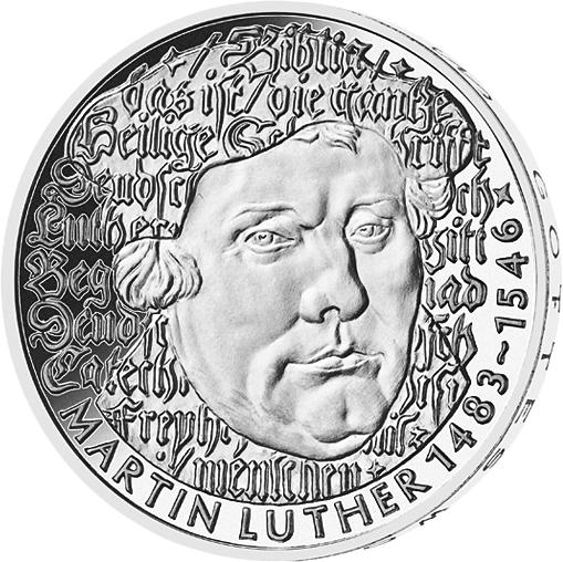 5 Dm Münze Martin Luther Deutschland 1983 Münzen Günstigerde