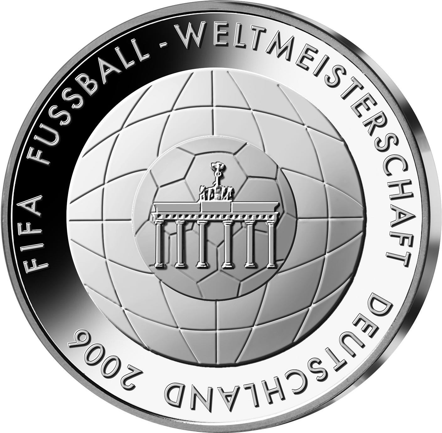 10 Euro Silbermünze Ruhrgebiet Brd 2003 Münzen Günstigerde