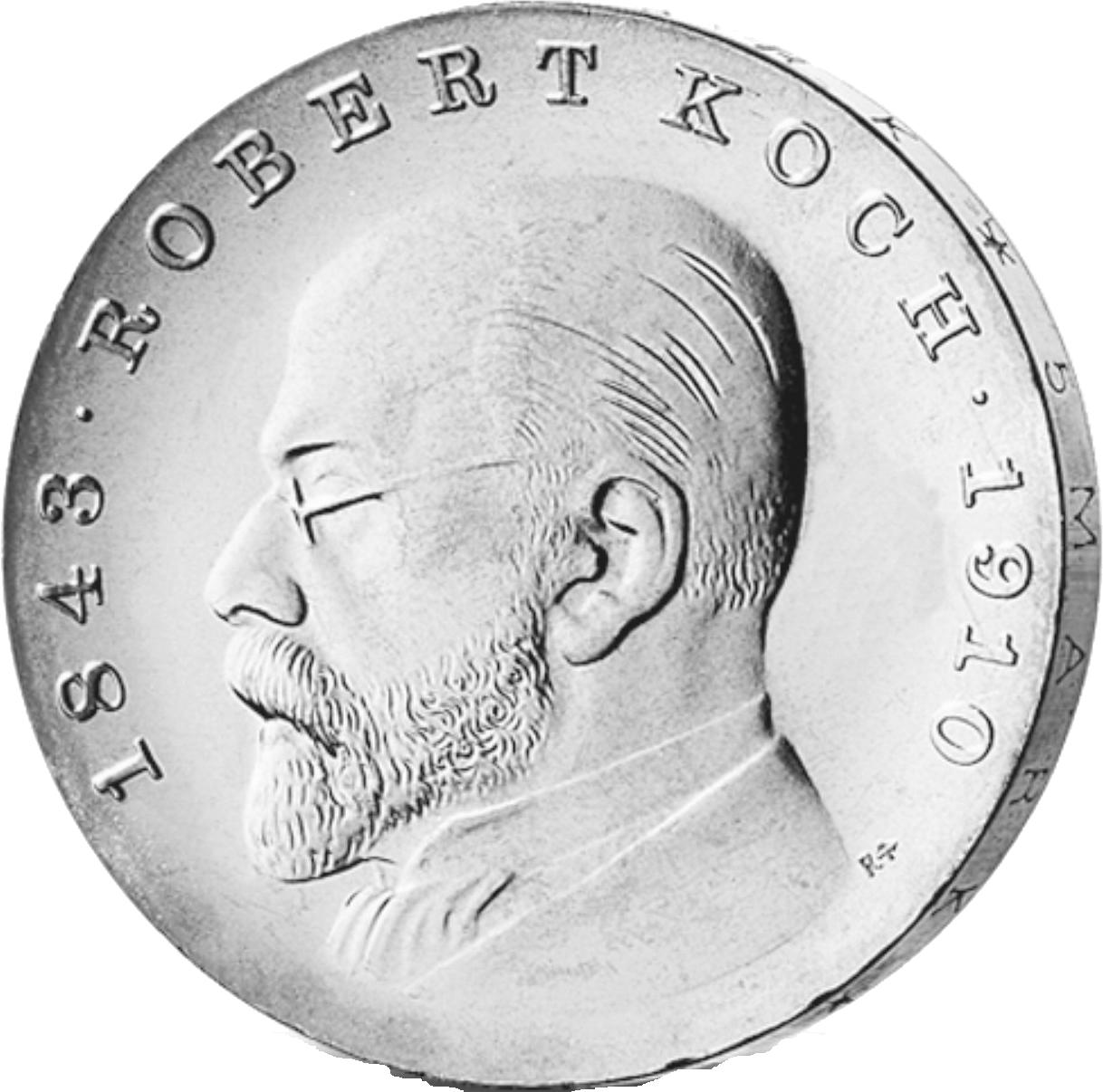 5 Mark Neusilber Koch Ddr 1968 Münzen Günstigerde