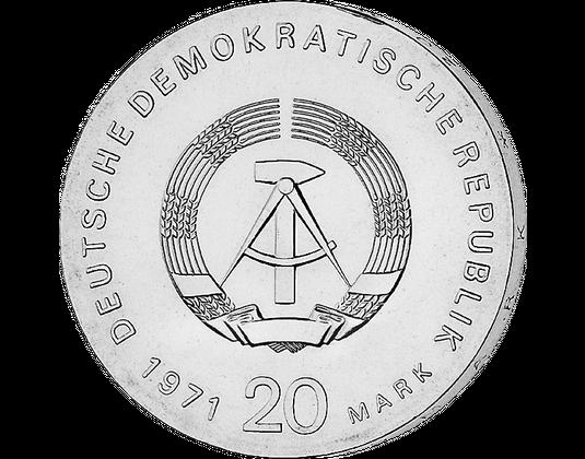 20 Ddr Mark 1971 Ernst Thälmann Mdm Deutsche Münze
