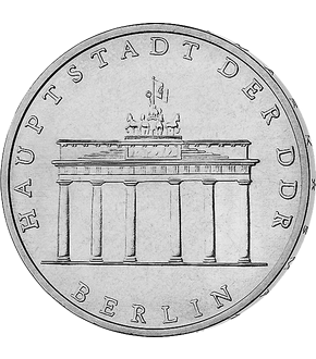 "5 Mark DDR Gedenkmünze ""Brandenburger Tor""!"