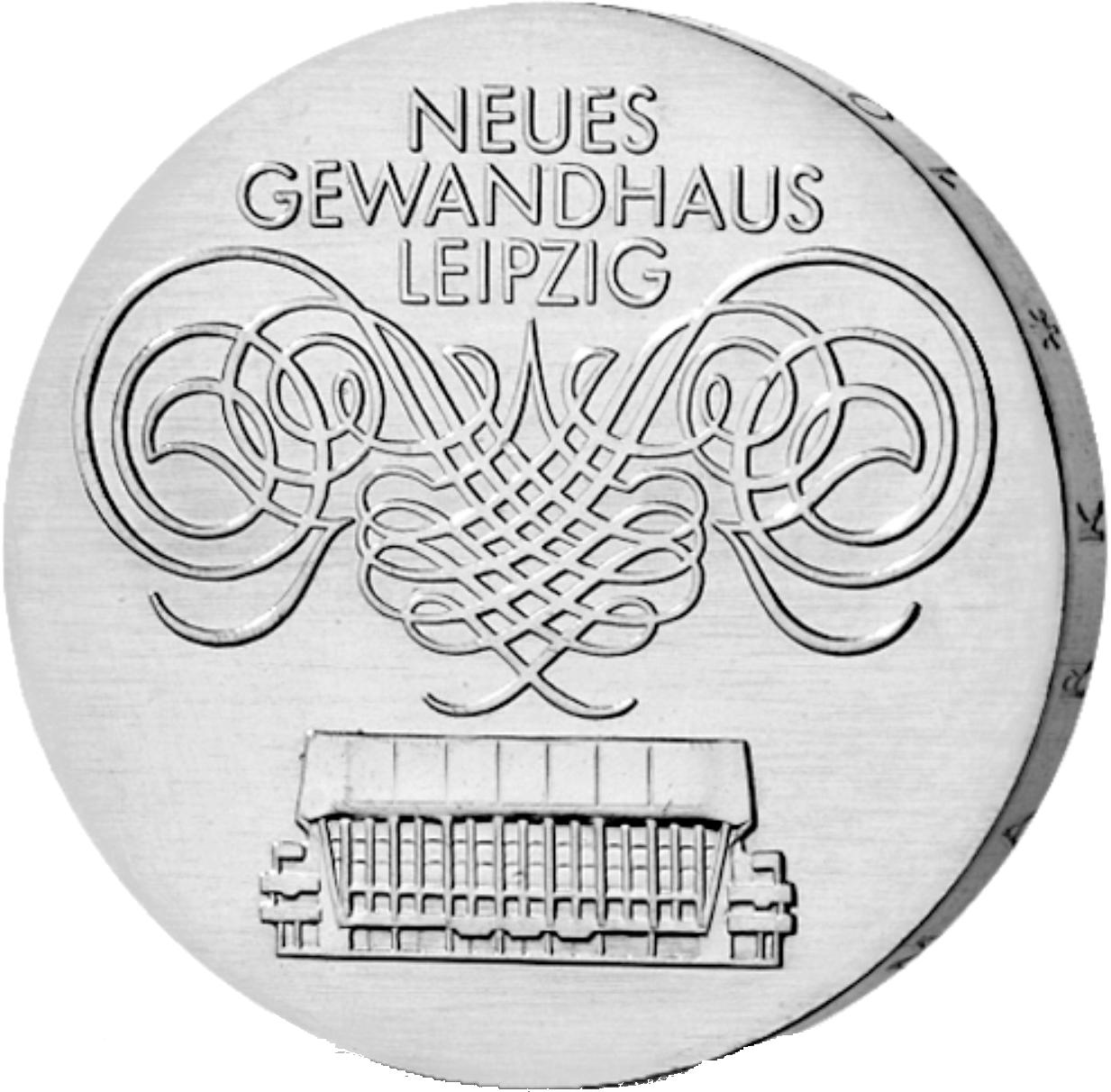 10 Mark Silber Münze Ddr Gewandhaus Leipzig 1982 Münzen Günstigerde