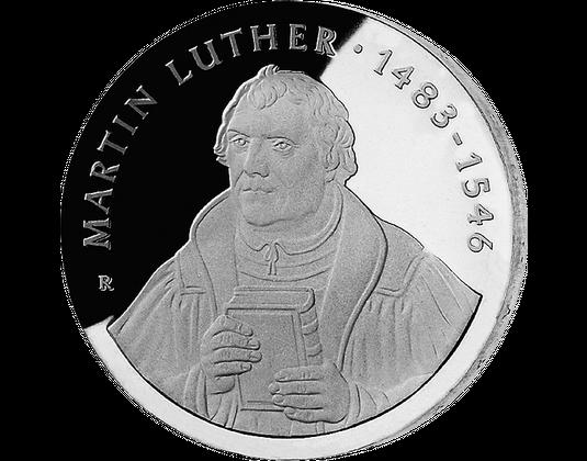 20 Mark Ddr 1983 Martin Luther Mdm Deutsche Münze