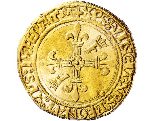 Ecu d'or soleil Rückseite