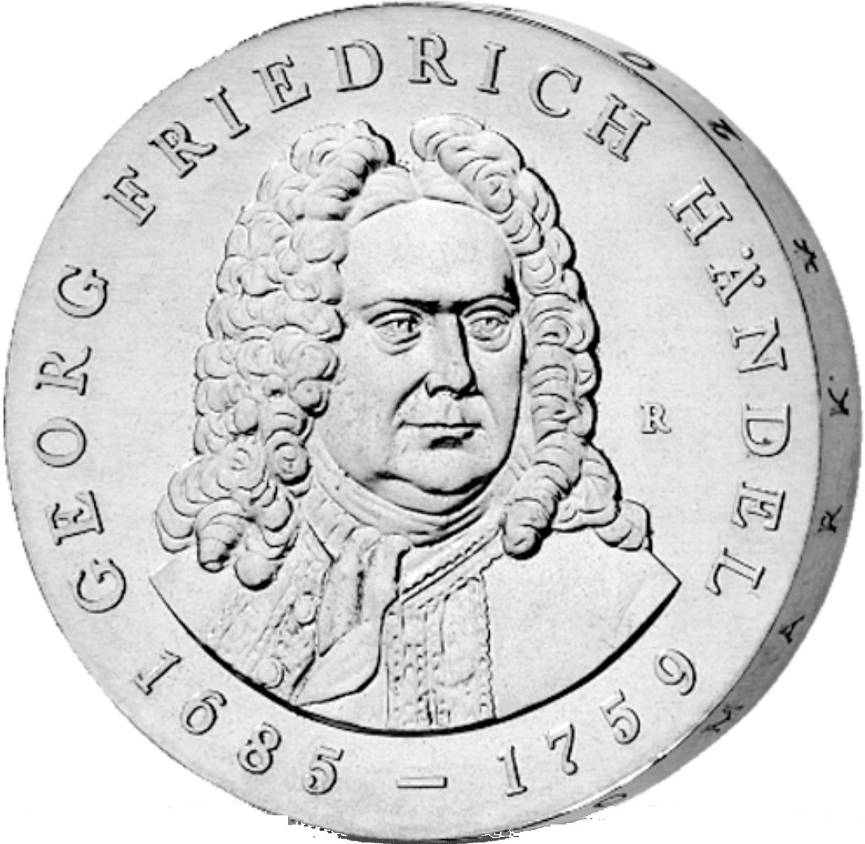 20 Mark Silber Münze Ddr Händel 1984 Münzen Günstigerde