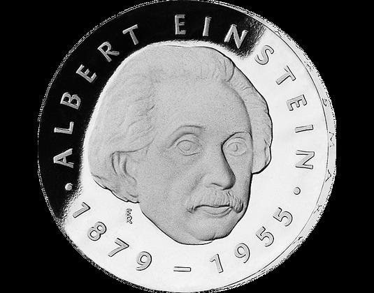 5 Mark Ddr 1979 Albert Einstein Mdm Deutsche Münze