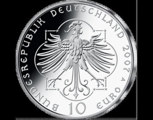 10 Euro Münze 2007 Elisabeth Von Thüringen Wert Ausreise Info