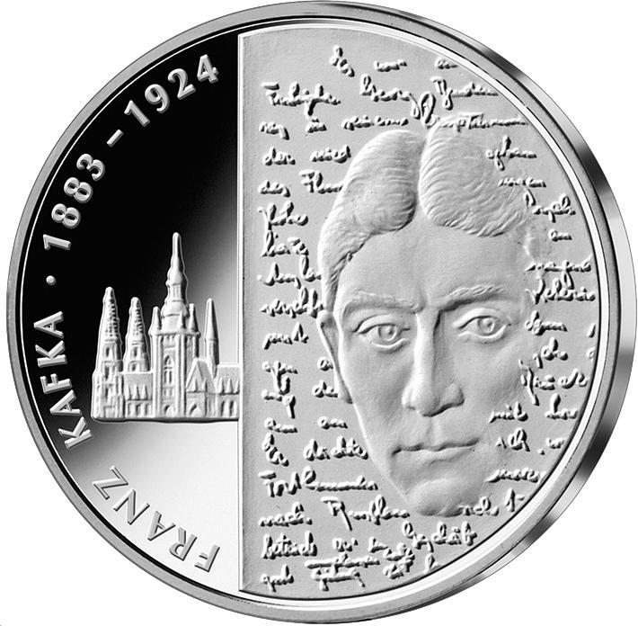10 Euro Silber Münze Brd Franz Kafka 2008 10 Euro Münzen Euro