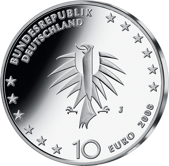 10 Euro Silber Münze Gorch Fock 2008 10 Euro Münzen Euro Münzen