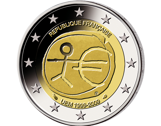 2 Euro Münze Bundesrepublik Deutschland 1999 Bis 2009 Wert
