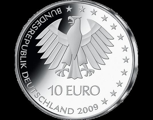 10 Euro Münze Leichtathletik Wm Berlin Mdm Deutsche Münze