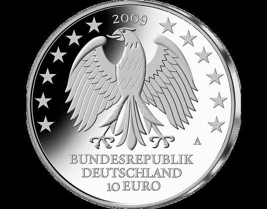 10 Euro Münze Universität Leipzig Mdm Deutsche Münze
