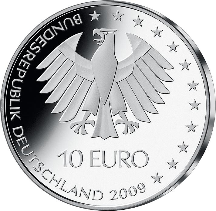 10 Euro Silber Münze Leichtathletik Wm 2009 10 Euro Münzen Euro