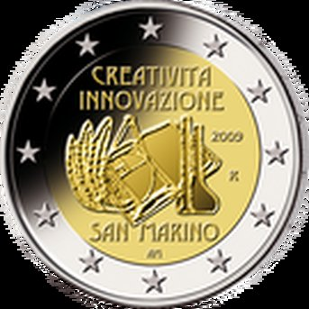 2 € San Marino 2009 Innovation