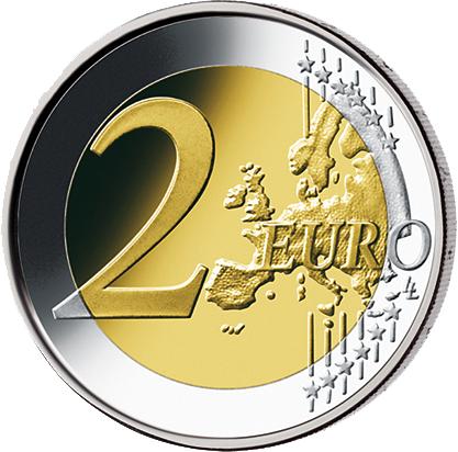 5x2 Euro Münze 25 Jahre Deutsche Einheit Brd 2015 Münzen
