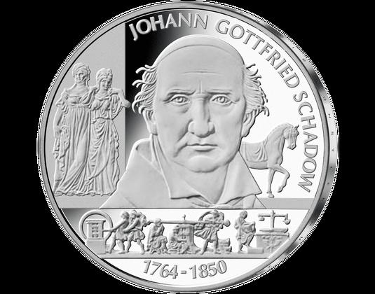 10 Euro Münze Johann Gottfried Schadow Mdm Deutsche Münze