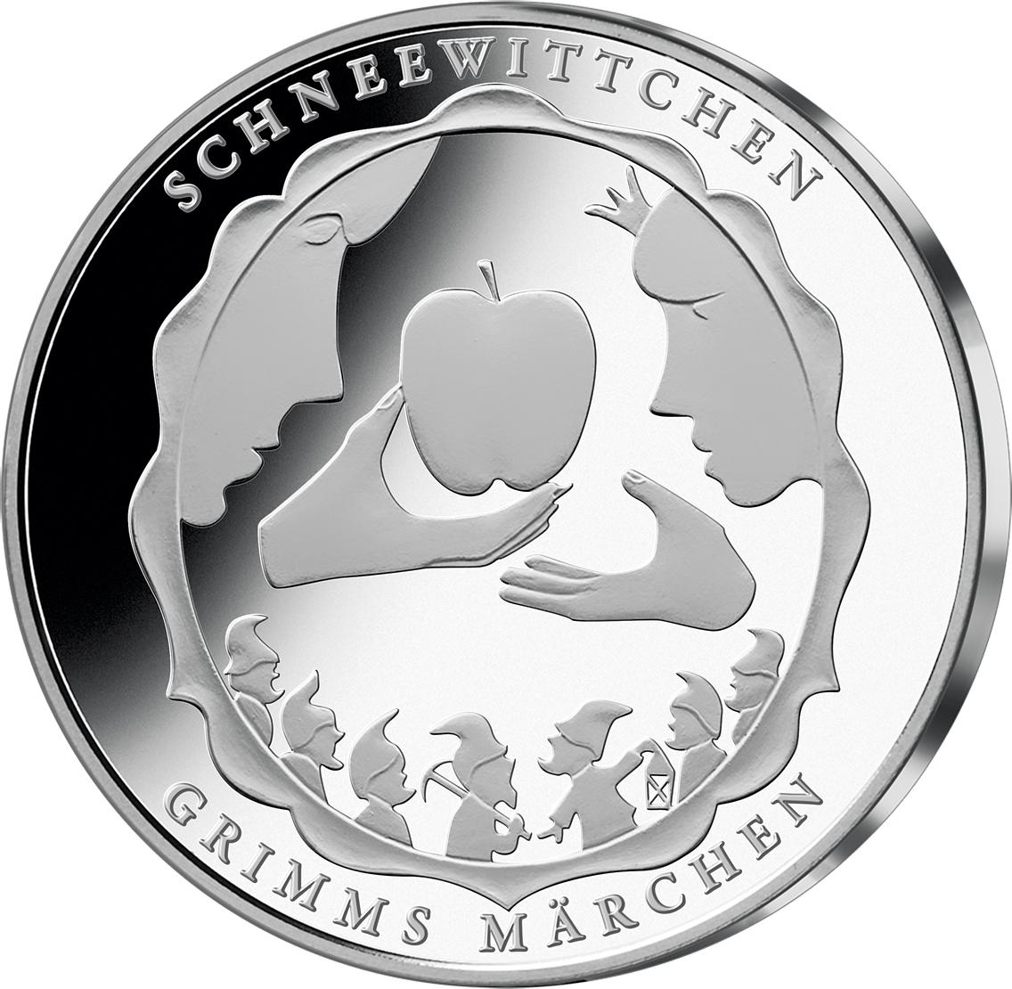 10 Euro Münze Schneewittchen Brd 2013 Münzen Günstigerde