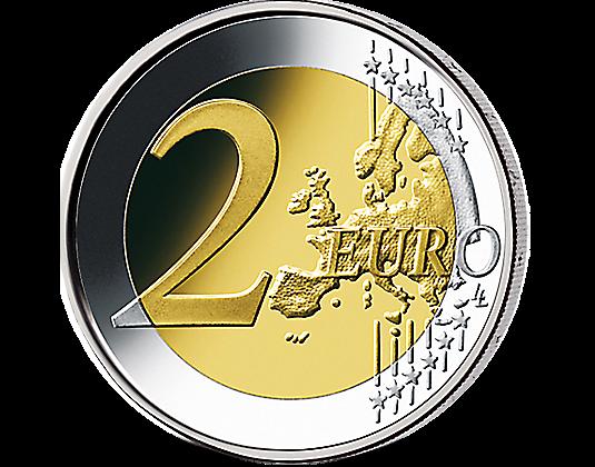 2 Euro Finnland 2008 Menschenrechte Mdm Deutsche Münze