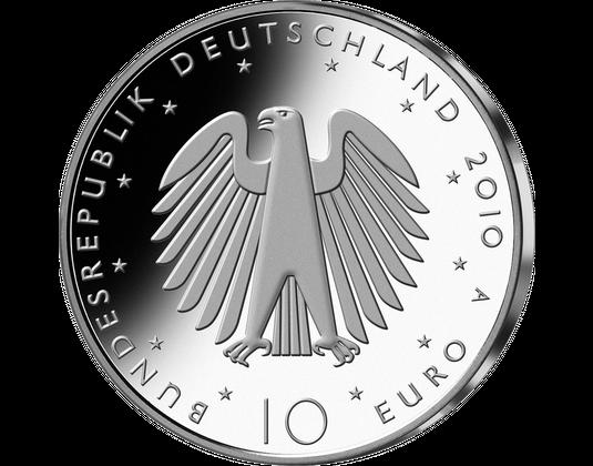 10 Euro Münze 20 Jahre Deutsche Einheit Mdm Deutsche Münze