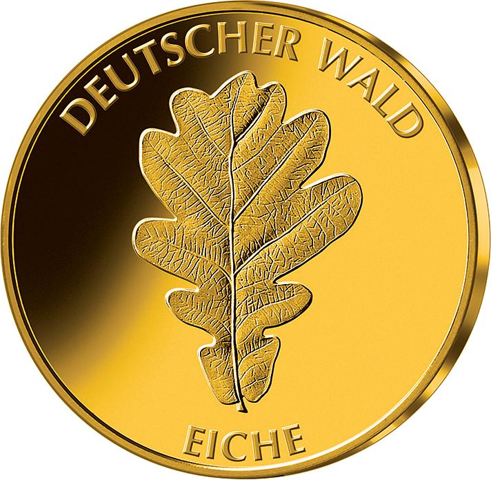 20 Euro Goldmünze Eiche Deutschland 2010 Münzen Günstigerde