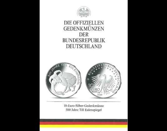 10 Euro Münze 500 Jahre Till Eulenspiegel Mdm Deutsche Münze