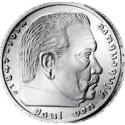 10 Silbermünzen Des Deutschen Reiches 19331945 Mdm Deutsche Münze