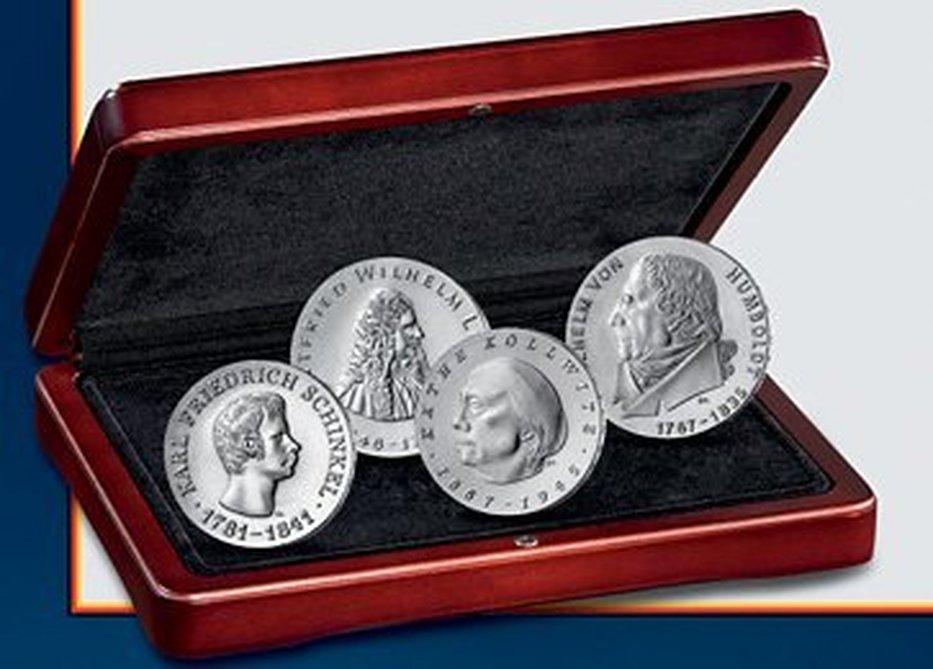 Die Ersten Vier Der Ddr Mdm Deutsche Münze