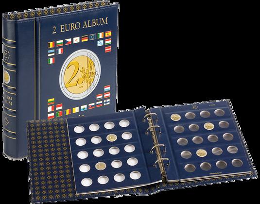 Münzalbum 2 Euro Münzen Vista Mdm Deutsche Münze