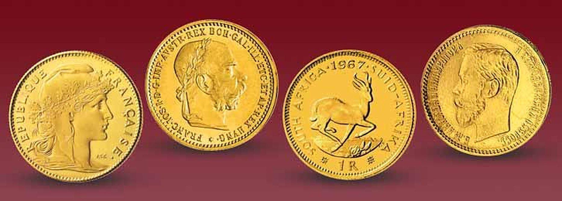Berühmtesten Goldmünzen Der Welt Mdm Deutsche Münze