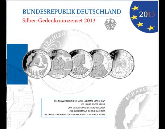 10 Euro Münzen Jahressatz 2013 Mdm Deutsche Münze
