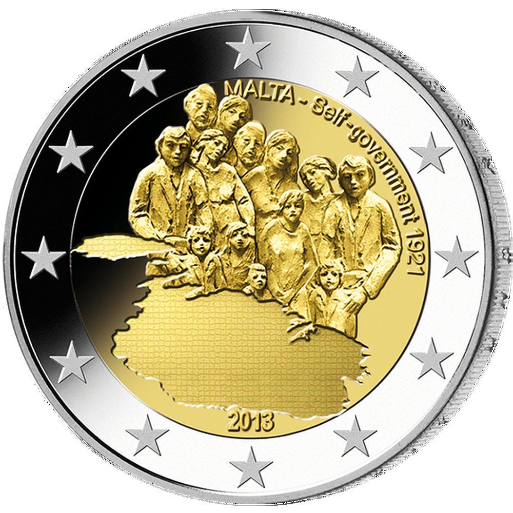 2 Euro Selbstverwaltung Malta 2013 Münzen Günstigerde