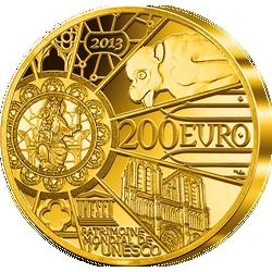 """1-Unze-Gold-Gedenkmünze """"850 Jahre Notre-Dame de Paris"""""""