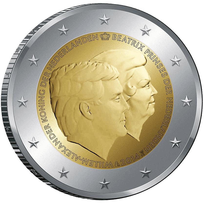 2 Euro Münze Doppelportrait 2014 Münzen Günstigerde