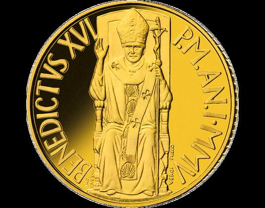 Vatikan Euro Goldmünzen Mdm Deutsche Münze