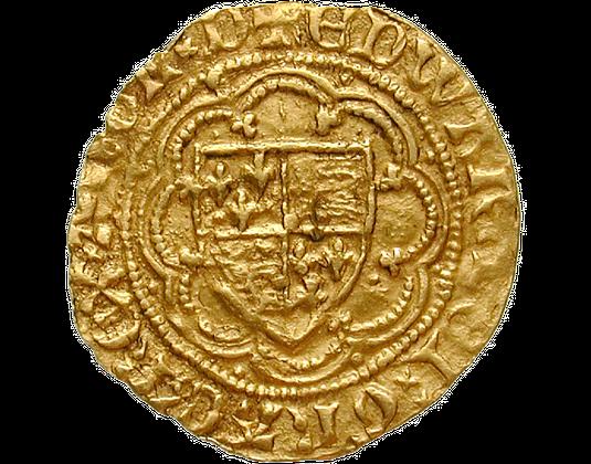 Goldmünze England 1346 1377 Edward Iii Mdm Deutsche Münze