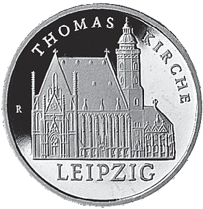 5 Mark Neusilber Thomaskirche Ddr 1984 Münzen Günstigerde
