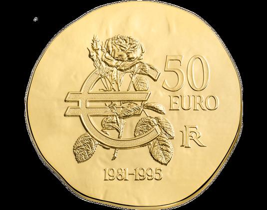 Euromünzen Frankreich Francois Mitterrand Mdm Deutsche Münze