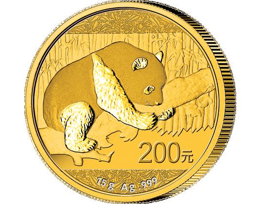 Chinas Gold Pandas 2016 Mdm Deutsche Münze