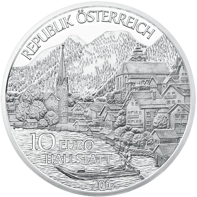 10 Euro Münze Oberösterreich 2016 Münzen Günstigerde