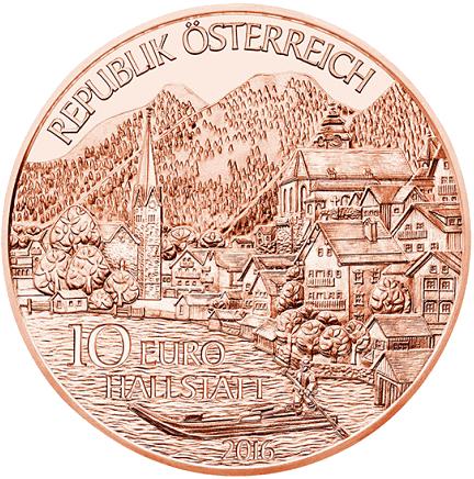 10 Euro Münze österreich Oberösterreich 2016 Münzen Günstigerde