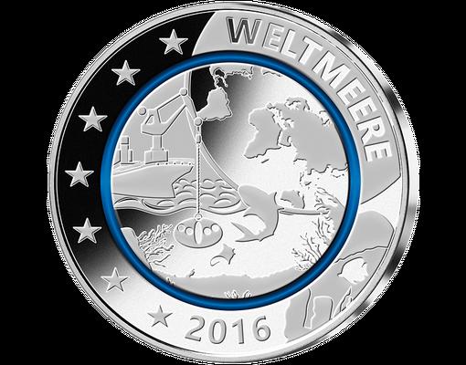 Silber Gedenkausgaben Blauer Planet Erde Mdm Deutsche Münze