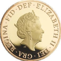 Pfundmünze mit Inschrift DGREGF