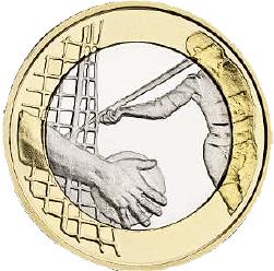 5 Euro Münze Finnland Leichtathletik 2016 Bfr Münzen Günstigerde