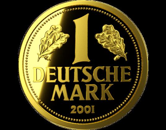 Neuprägung Goldmark 2018 Mdm Deutsche Münze