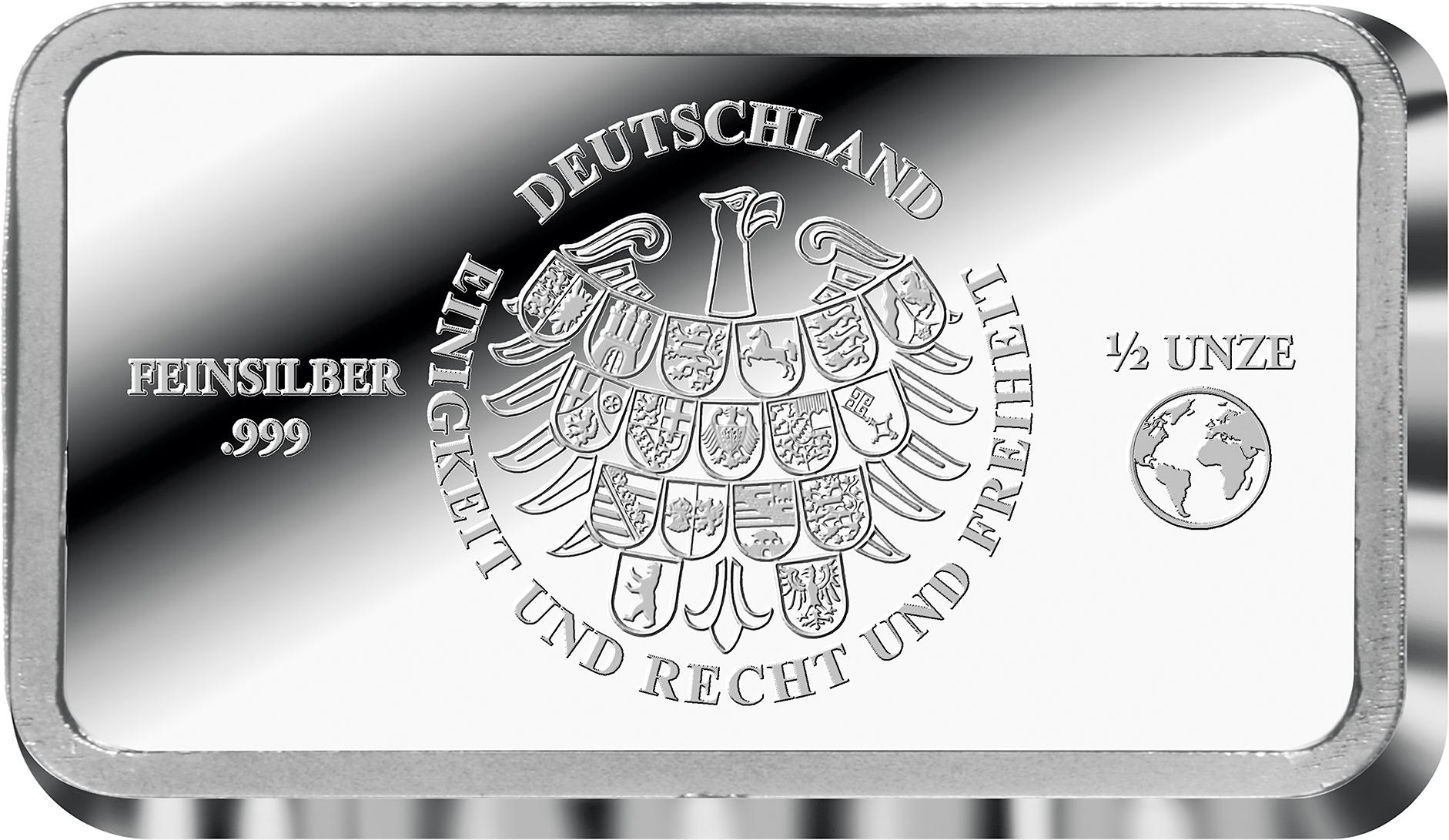 Silber Barren Ergänzend Zur 5 Euro Münze Tropische Zone Pl Mit Uv