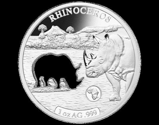 Silber Gedenkmünzen Im Komplett Satz Shapes Of Africa Mdm