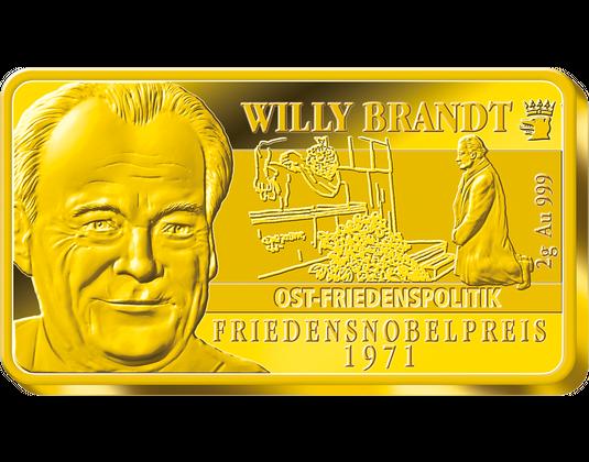 6er Goldbarren Satz Deutsche Nobelpreisträger Mdm Deutsche Münze